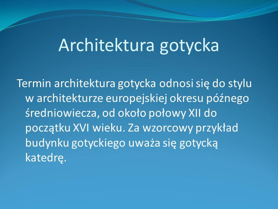 Architektura gotycka