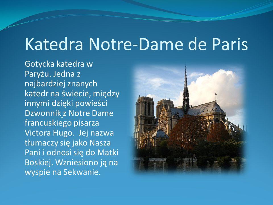 Katedra Notre-Dame de Paris
