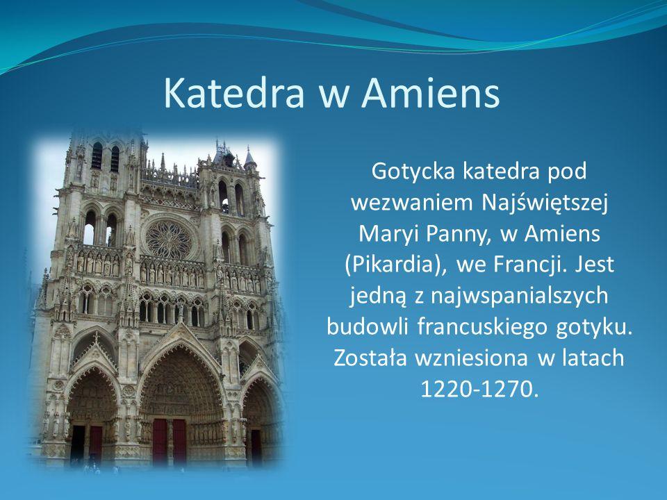 Katedra w Amiens