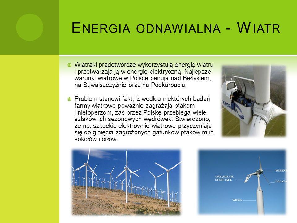 Energia odnawialna - Wiatr