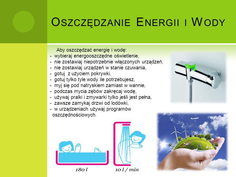 Oszczędzanie Energii i Wody