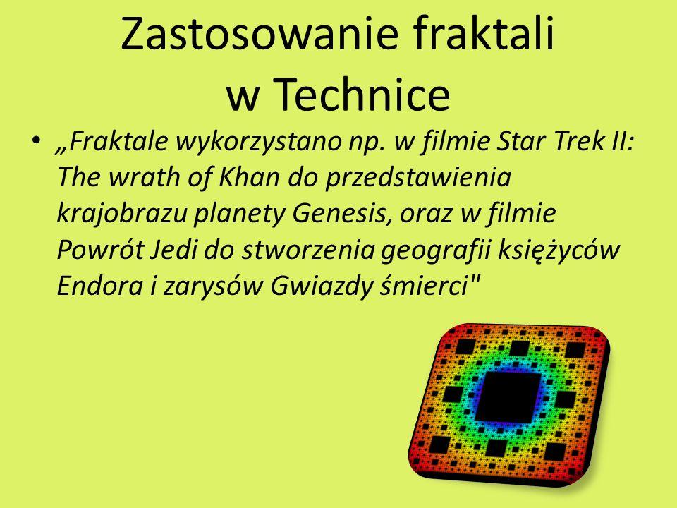 Zastosowanie fraktali w Technice