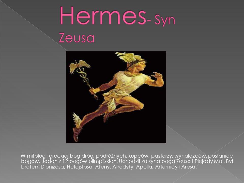 Hermes- Syn Zeusa