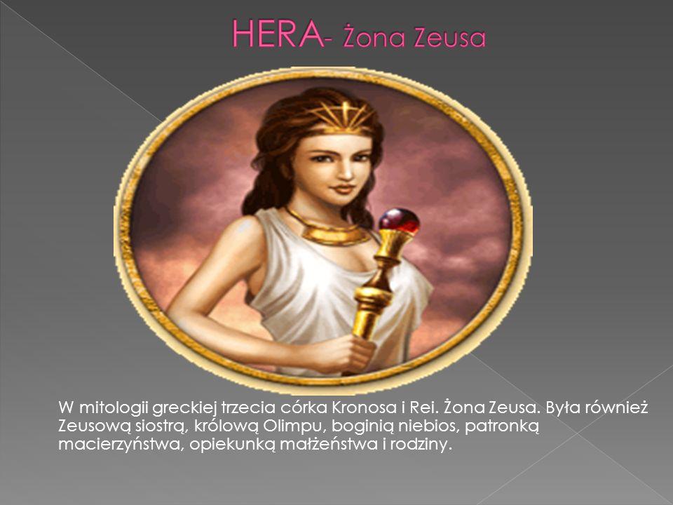 HERA- Żona Zeusa
