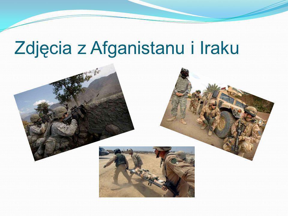 Zdjęcia z Afganistanu i Iraku