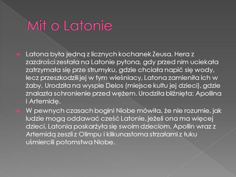 Mit o Latonie