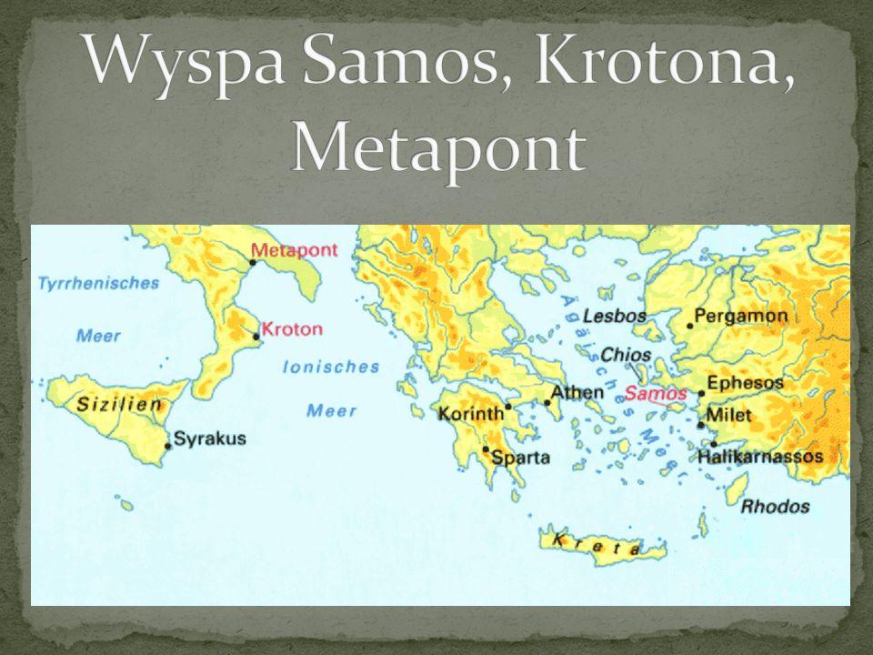 Wyspa Samos, Krotona, Metapont