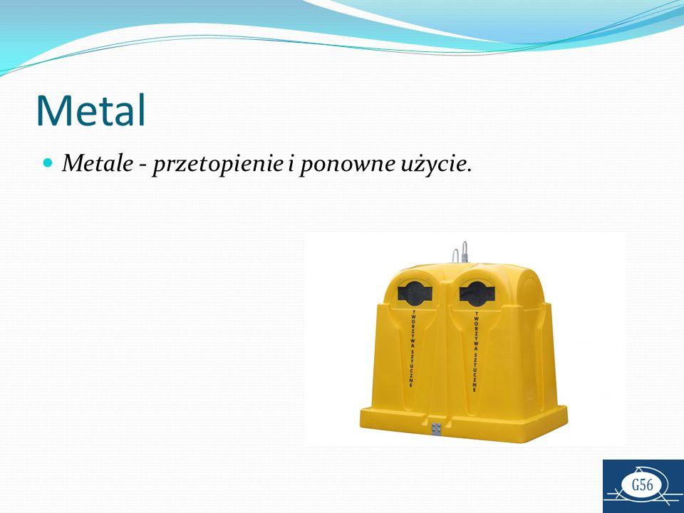 Metal Metale - przetopienie i ponowne użycie.