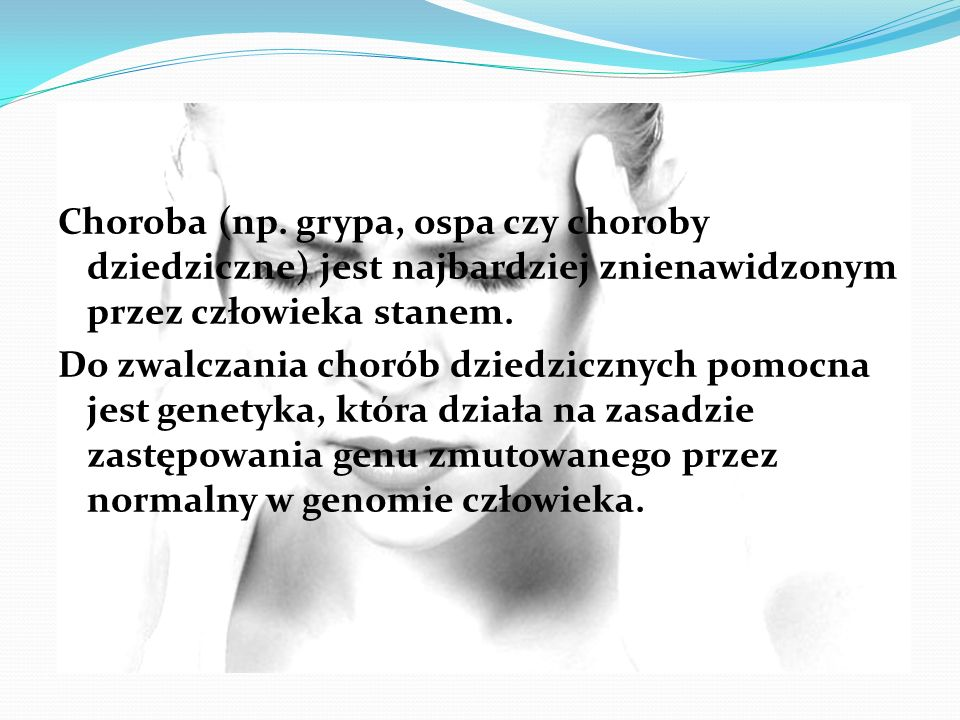 Choroba (np.