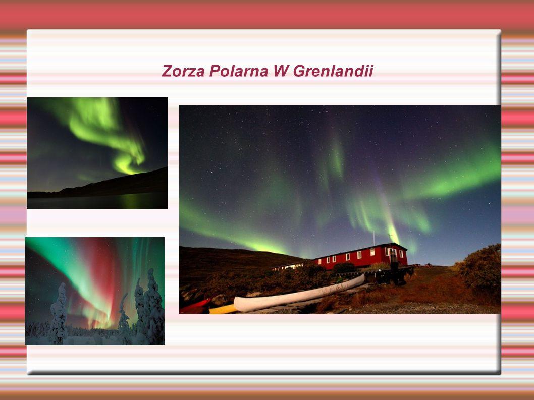 Zorza Polarna W Grenlandii