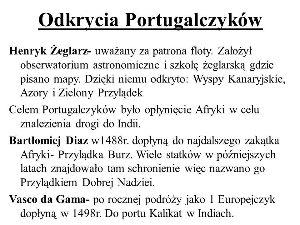 Odkrycia Portugalczyków