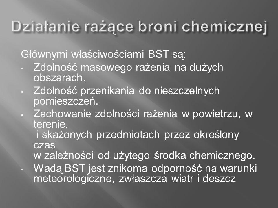 Działanie rażące broni chemicznej