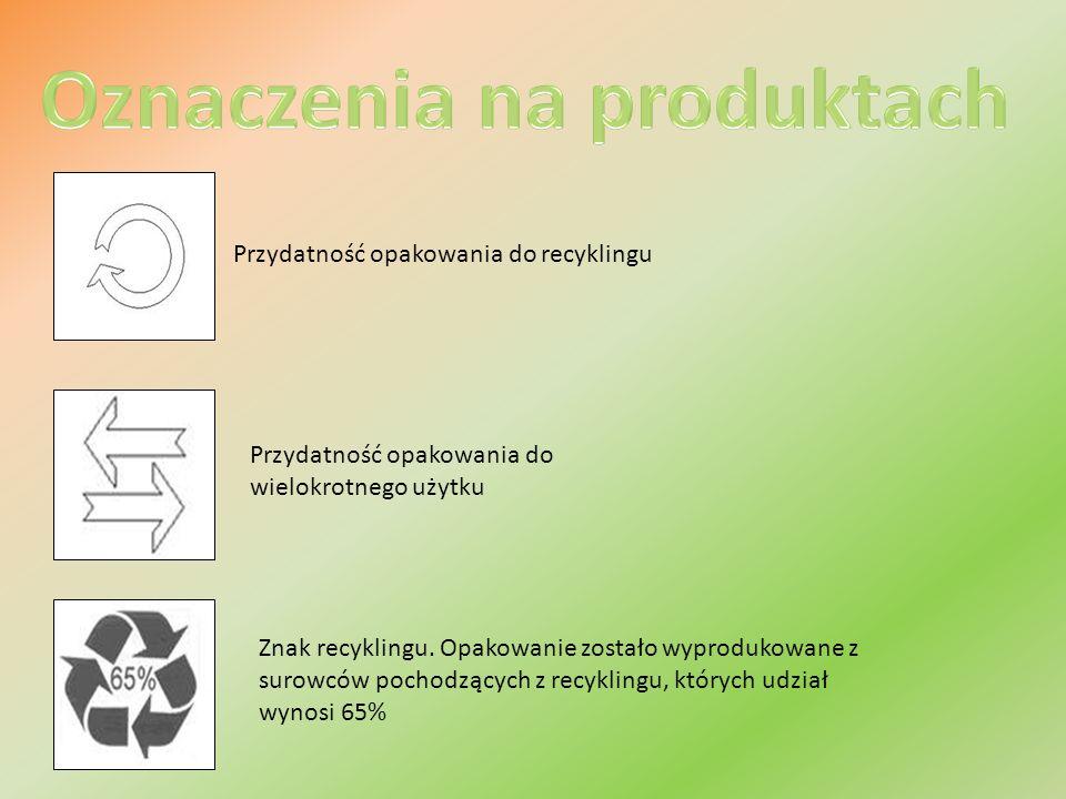 Oznaczenia na produktach