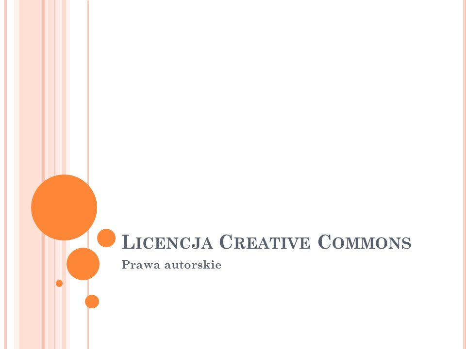 Licencja Creative Commons