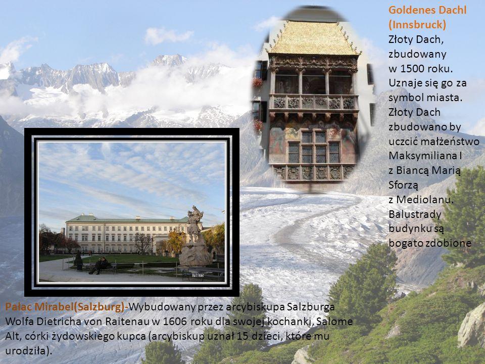 Goldenes Dachl (Innsbruck) Złoty Dach, zbudowany.