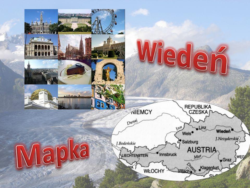Wiedeń Mapka