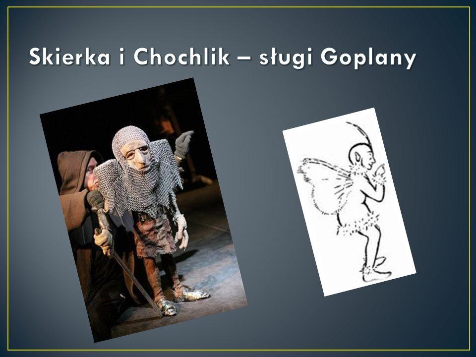 Skierka i Chochlik – sługi Goplany