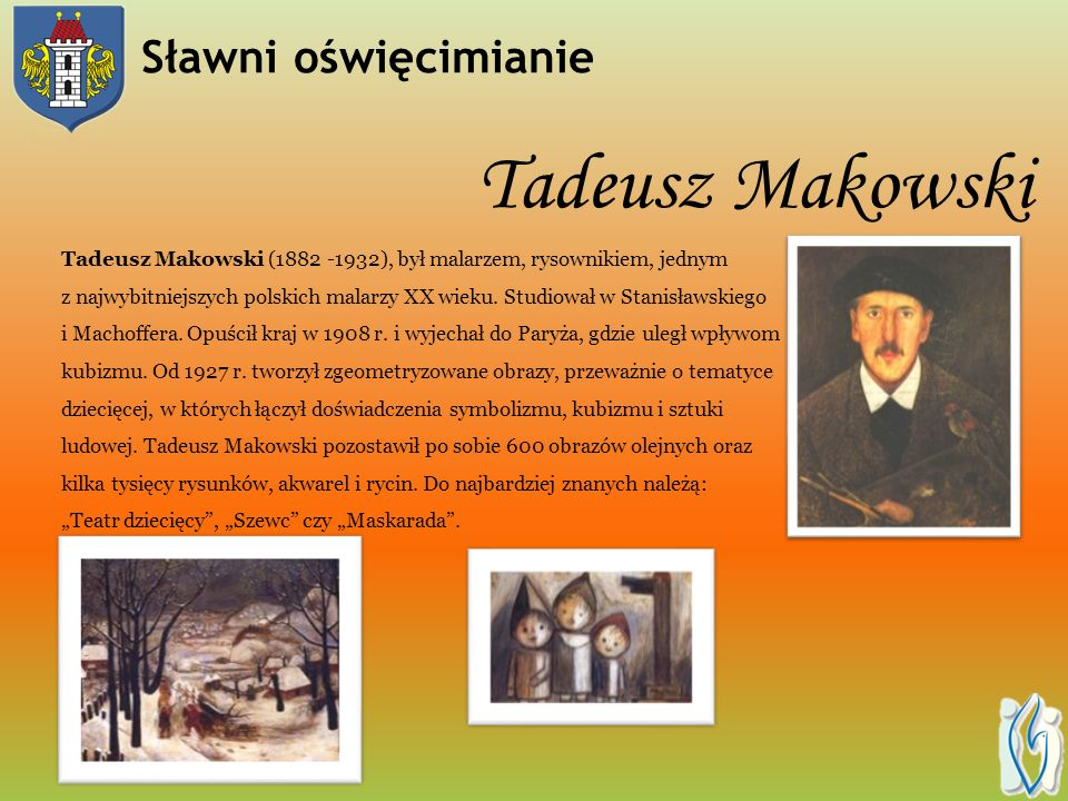 Tadeusz Makowski Sławni oświęcimianie