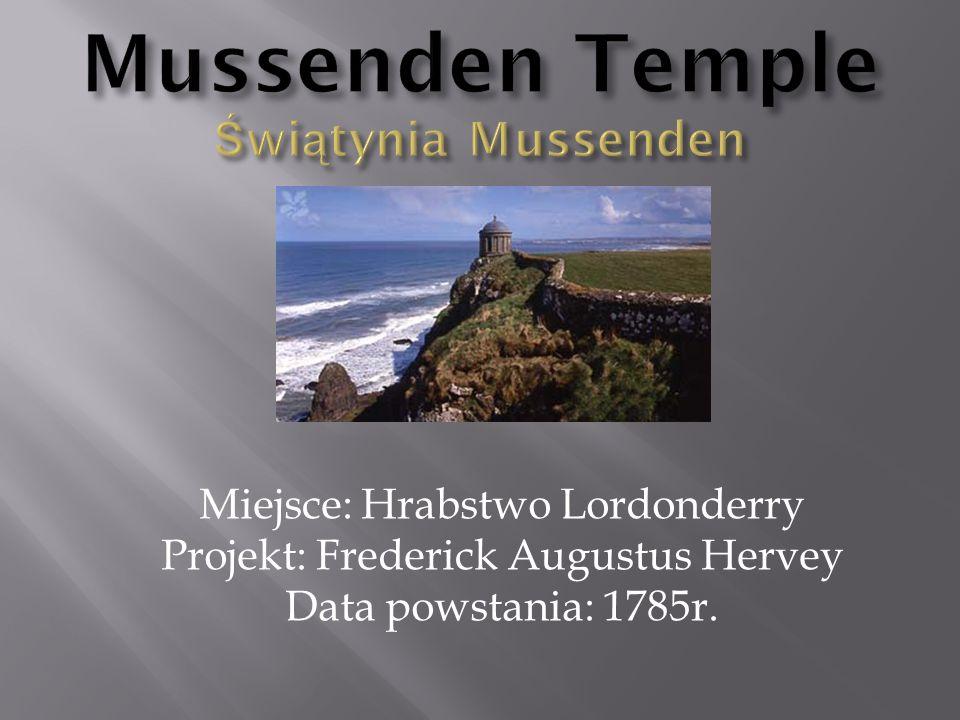 Mussenden Temple Świątynia Mussenden