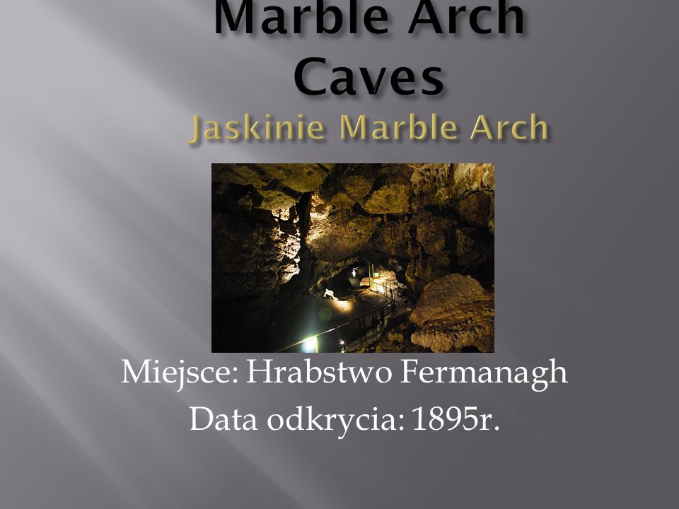 Marble Arch Caves Jaskinie Marble Arch
