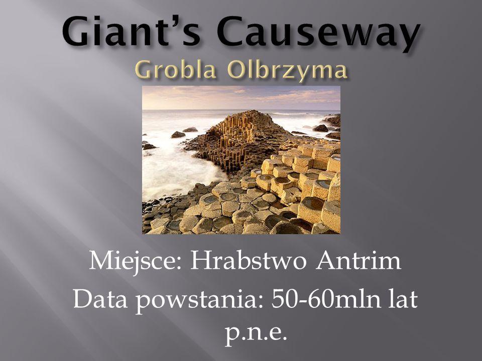 Giant's Causeway Grobla Olbrzyma