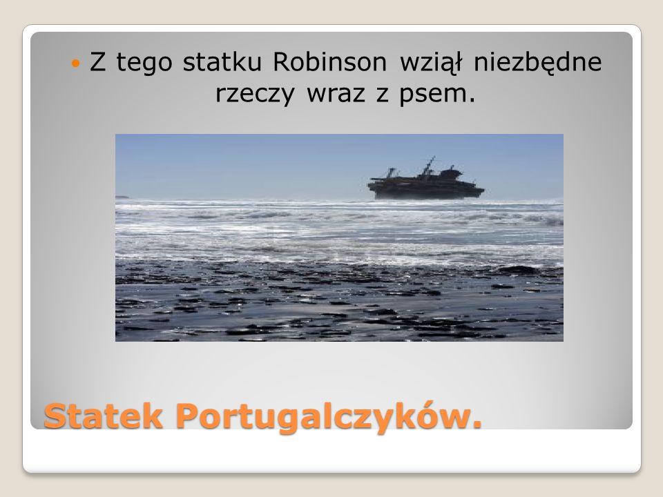 Statek Portugalczyków.