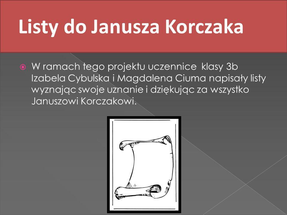 Listy do Janusza Korczaka