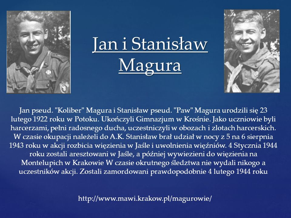 Jan i Stanisław Magura