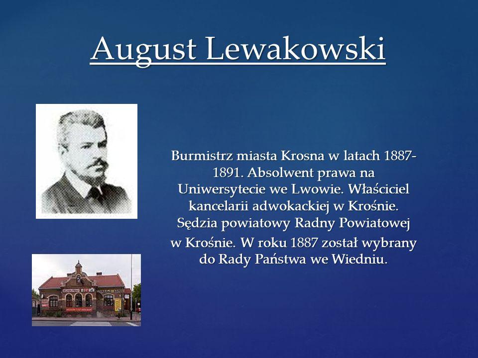 August Lewakowski