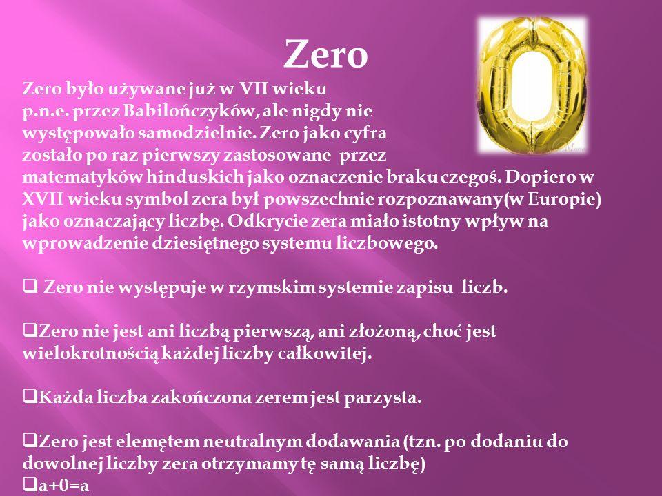 Zero Zero było używane już w VII wieku