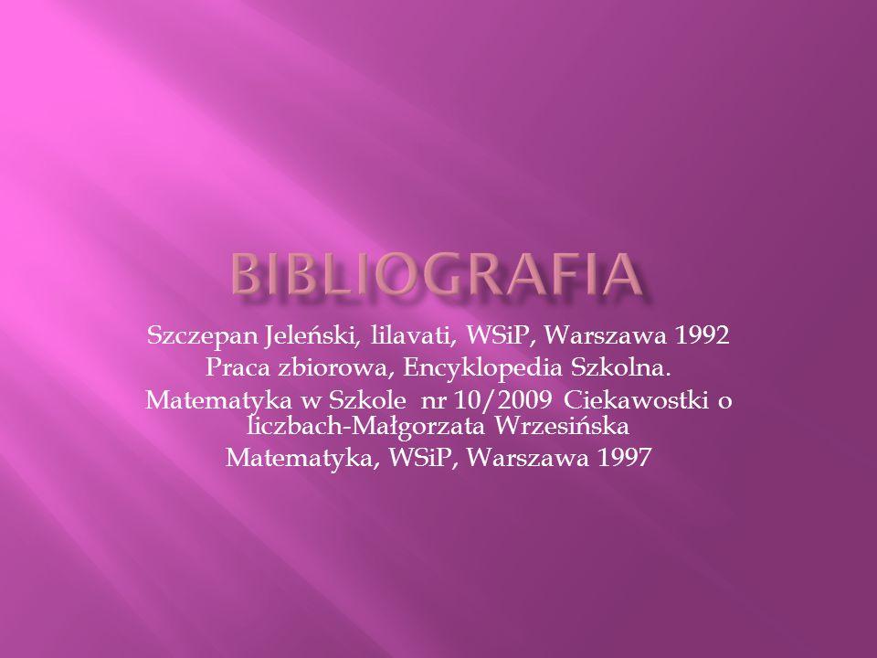Bibliografia Szczepan Jeleński, lilavati, WSiP, Warszawa 1992