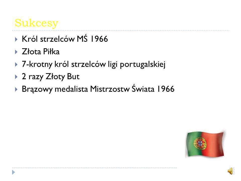 Sukcesy Król strzelców MŚ 1966 Złota Piłka