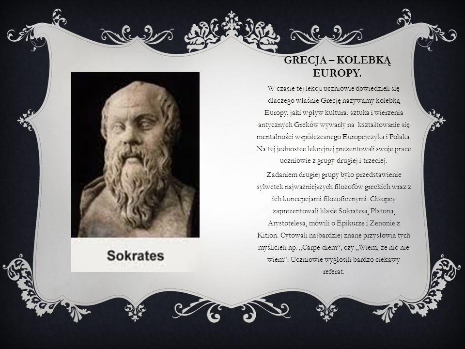 Grecja – kolebką Europy.