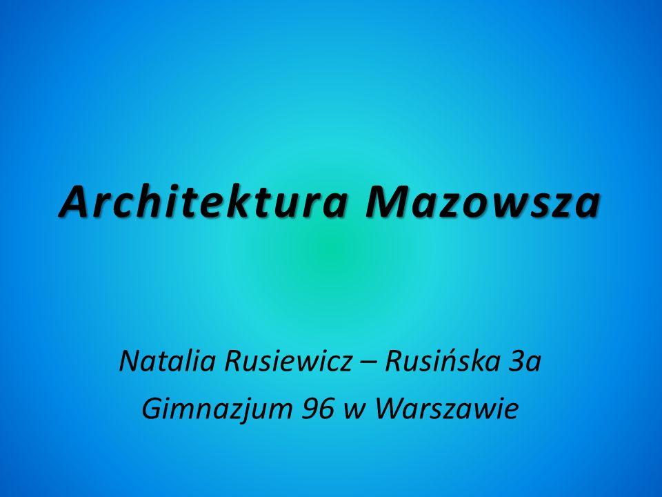 Architektura Mazowsza