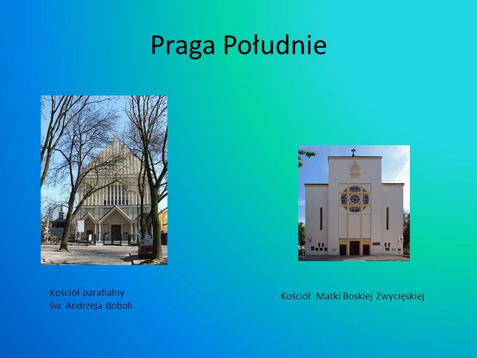 Praga Południe Kościół parafialny Kościół Matki Boskiej Zwycięskiej