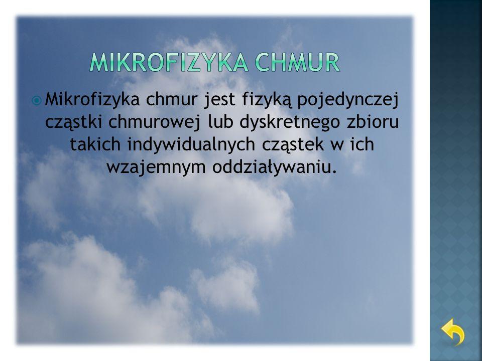 Mikrofizyka chmur