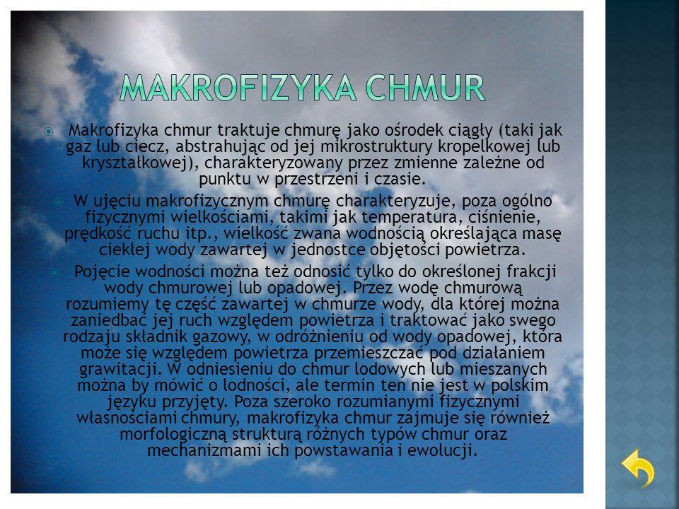 Makrofizyka chmur