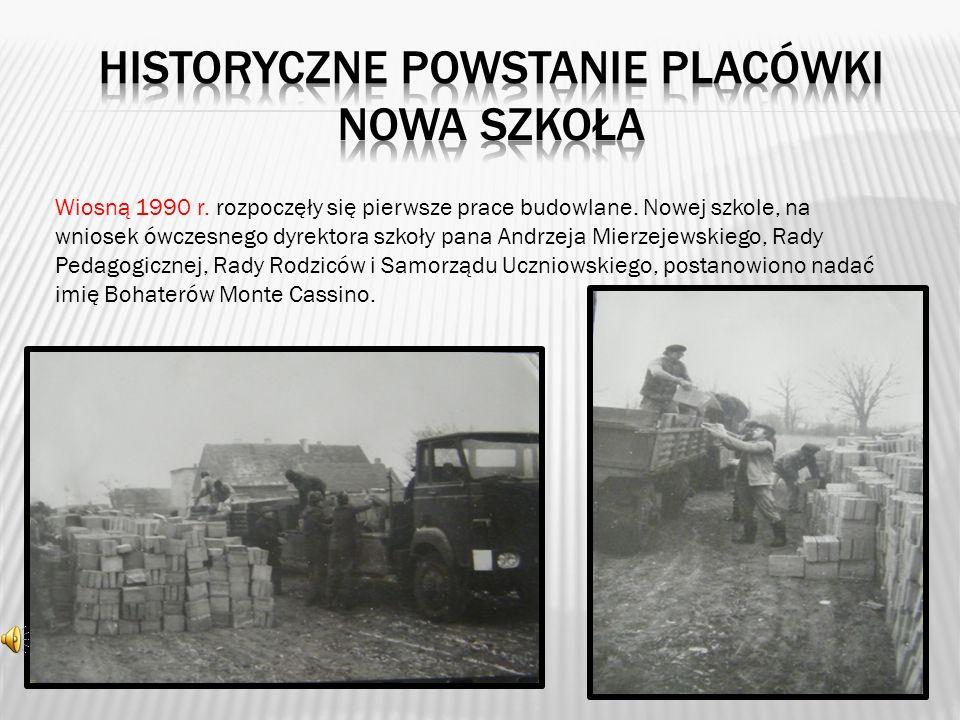 HISTORYCZNe POWSTANie PLACÓWKI Nowa szkoła