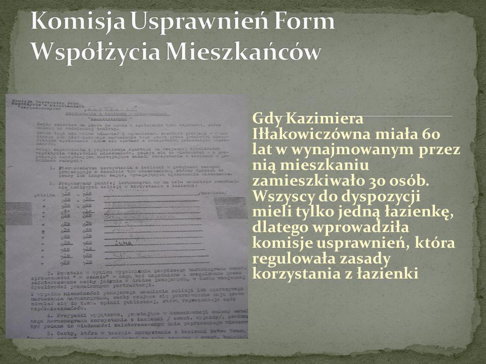 Komisja Usprawnień Form Współżycia Mieszkańców