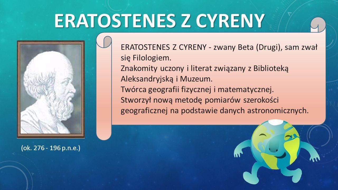 Eratostenes z cyreny