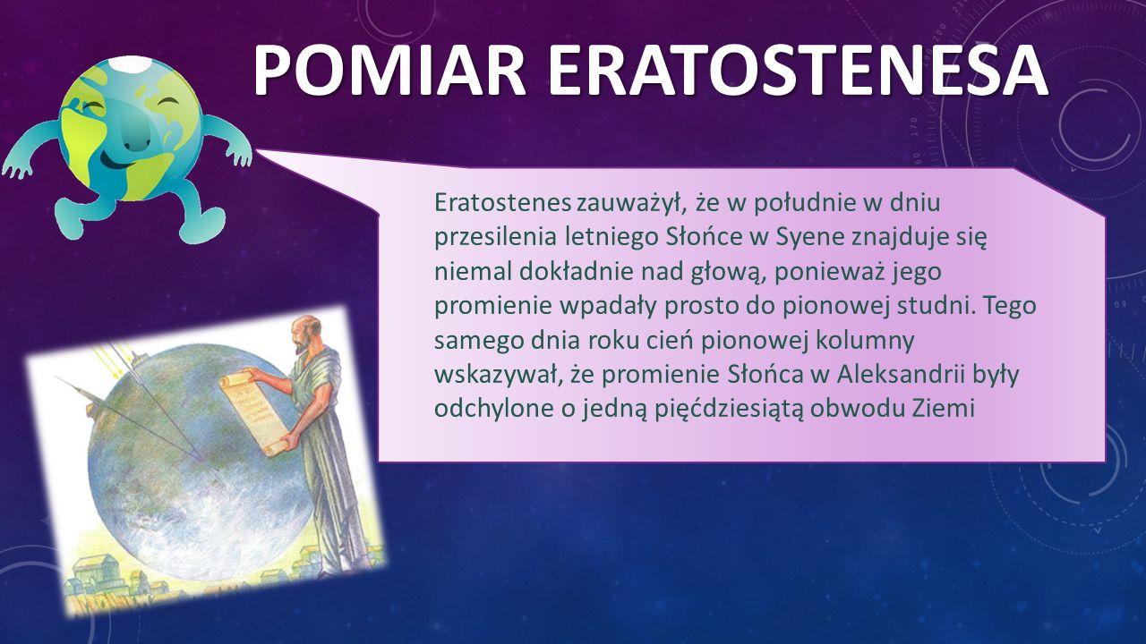 Pomiar Eratostenesa