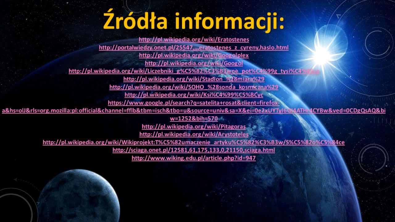 Źródła informacji: http://pl. wikipedia