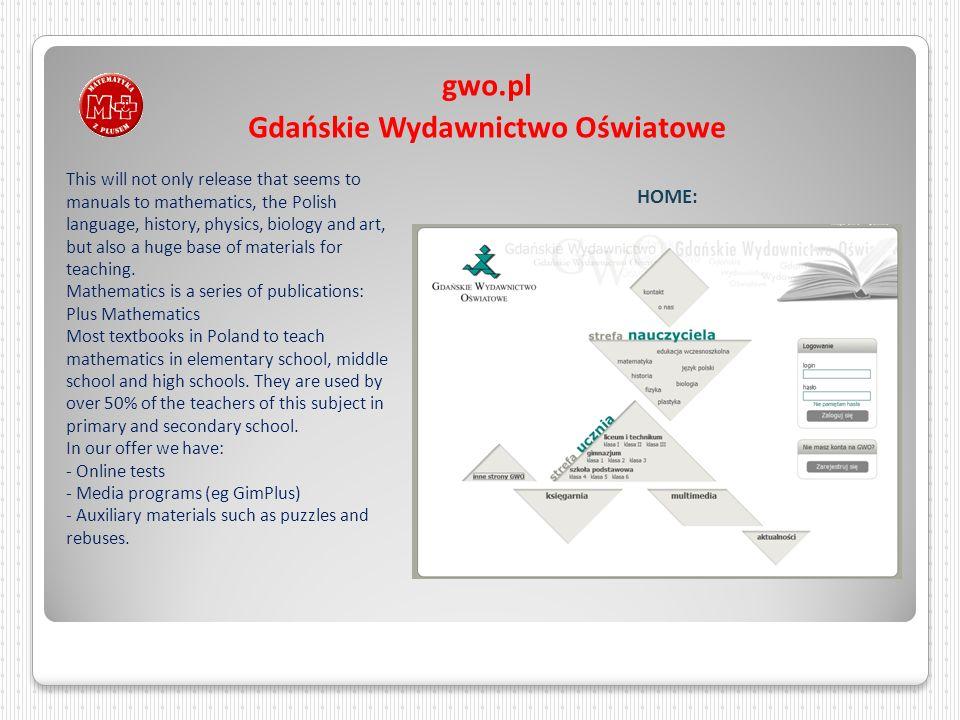 gwo.pl Gdańskie Wydawnictwo Oświatowe