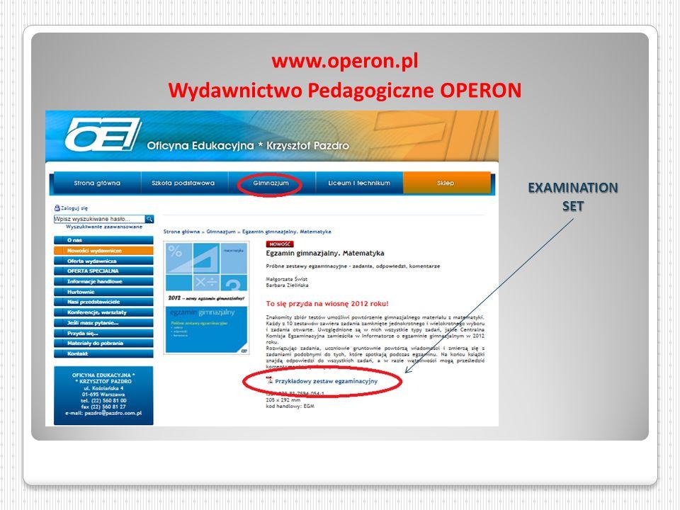 Wydawnictwo Pedagogiczne OPERON