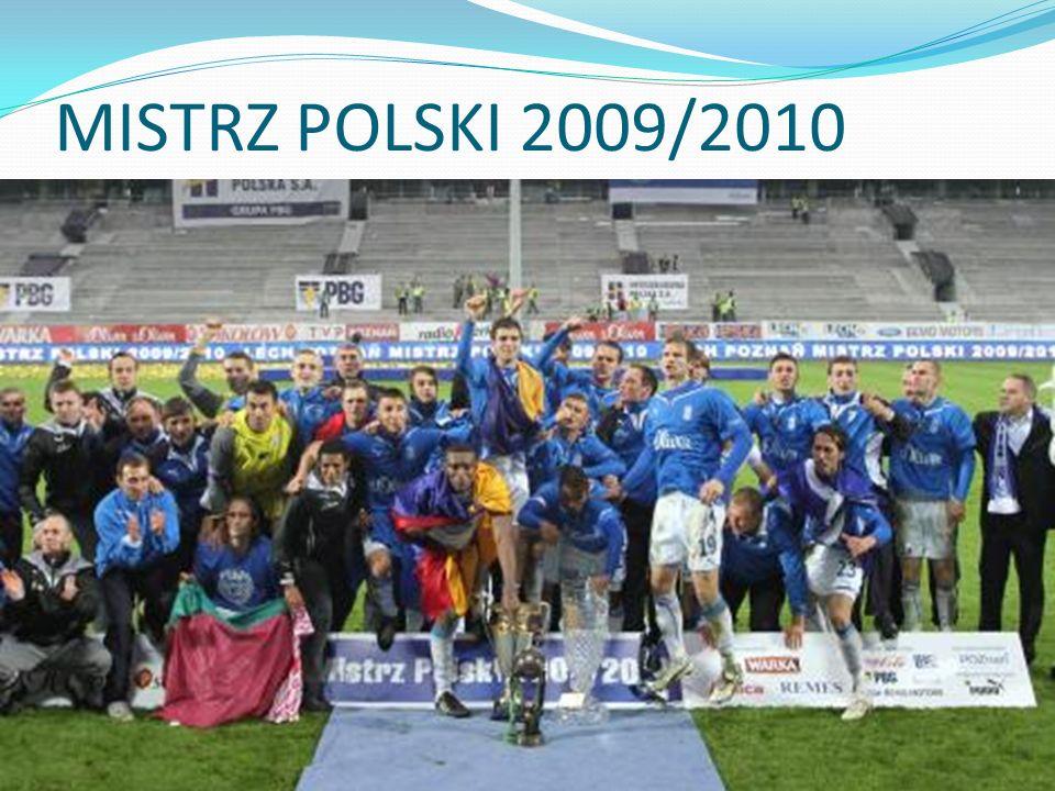 MISTRZ POLSKI 2009/2010