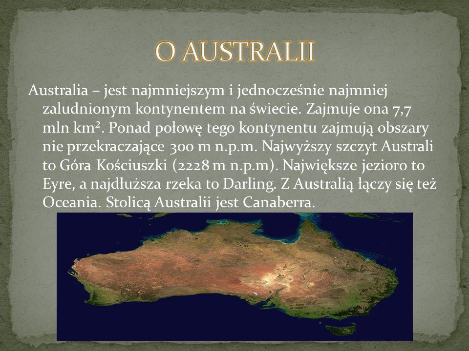 O AUSTRALII