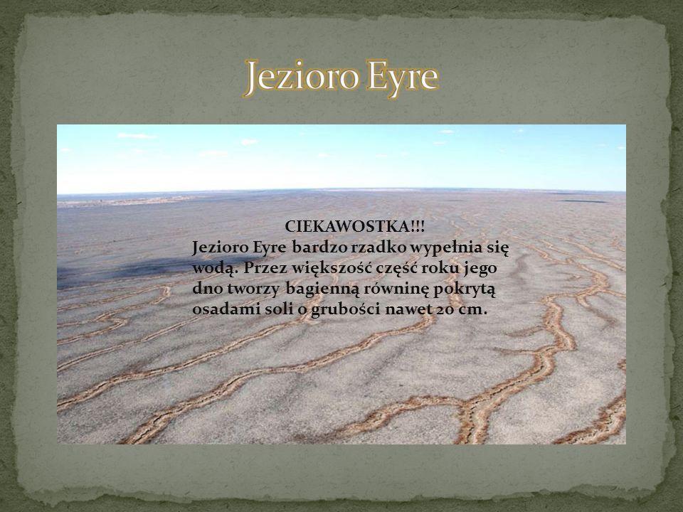 Jezioro Eyre CIEKAWOSTKA!!!