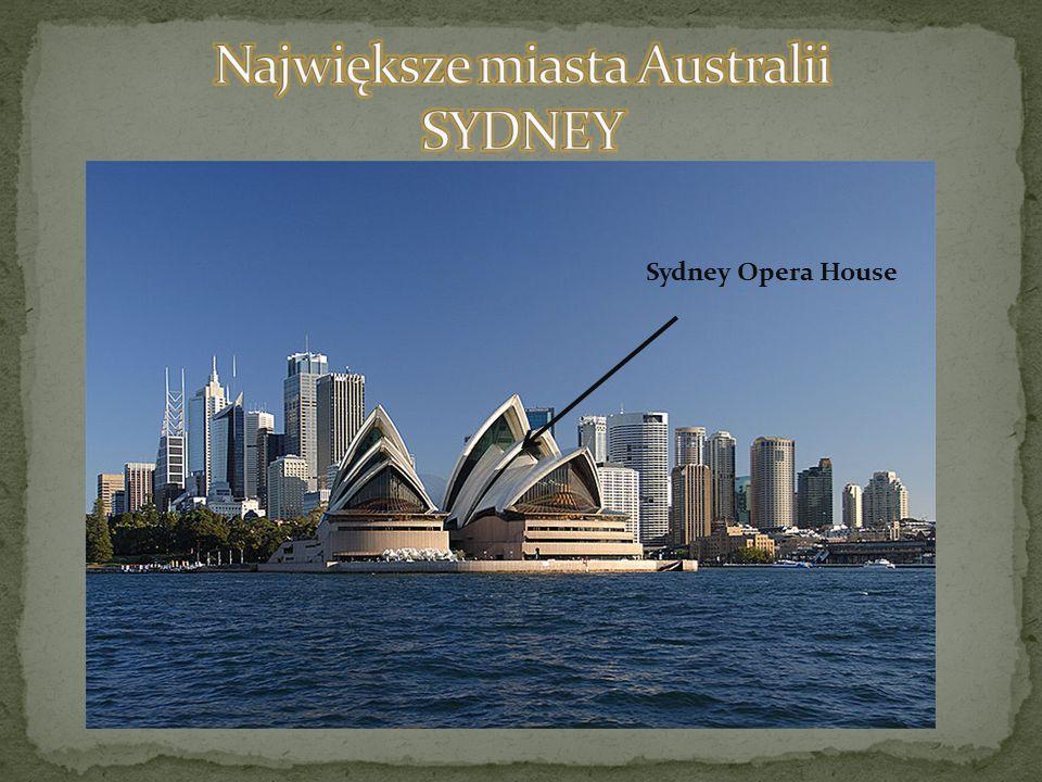 Największe miasta Australii SYDNEY