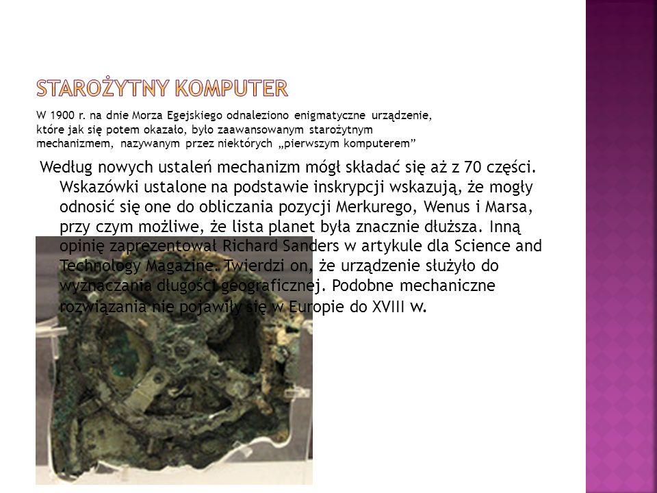 Starożytny komputer