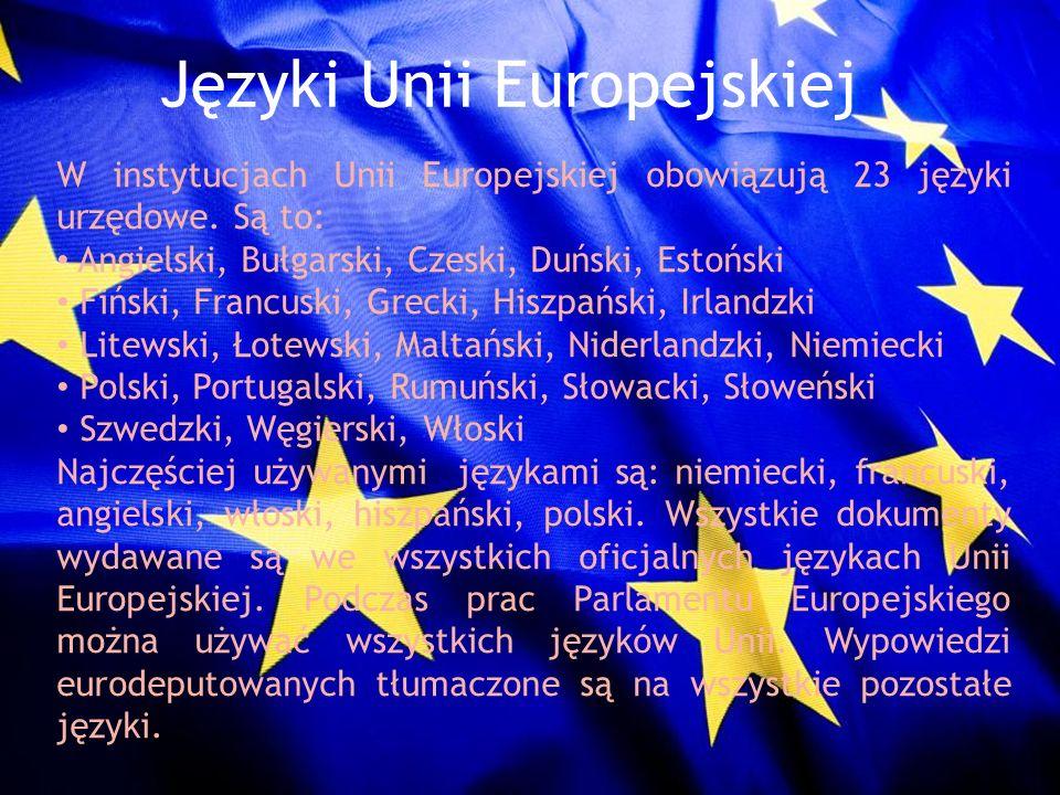 Języki Unii Europejskiej